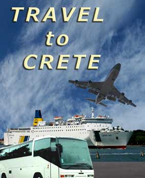 Travelling to and around Crete by Air, Train, Car, Coach or Ferry