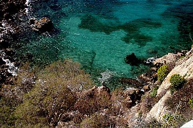 Rocky Cove in South West Crete