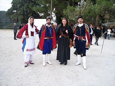 Traditional Dress on the Commemoration of the Arkadi Holocaust, Rethymnon, Crete